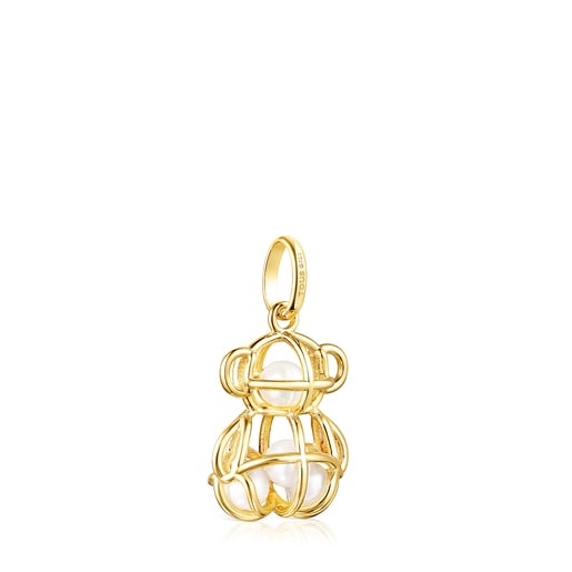 Gold and Pearls Costura Pendant