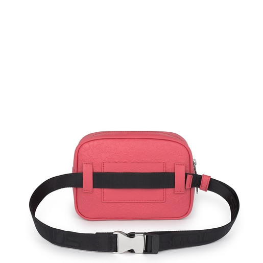 Fuchsia leather Sira belt bag