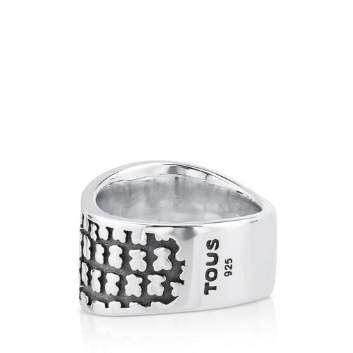 Silver Saurio Ring