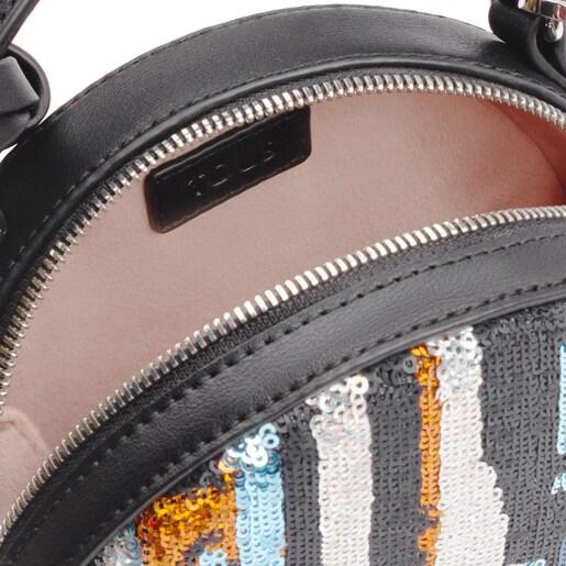 Sac à bandoulière Dulzena Sequins mini multicolore