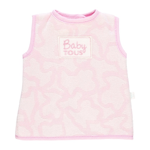 Babete Camisola Kaos Rosa