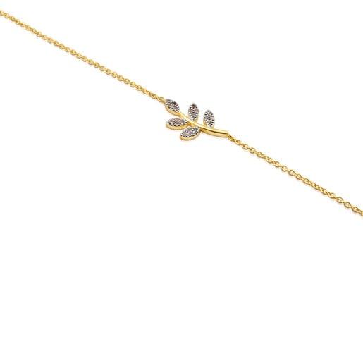 Pulsera de oro con diamantes Gem Power