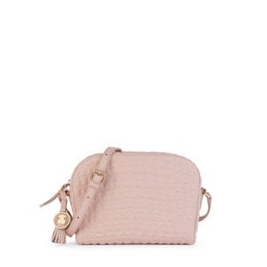 Pink Leather Sherton Crossbody bag