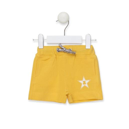 Bermuda de niño Casual Amarillo