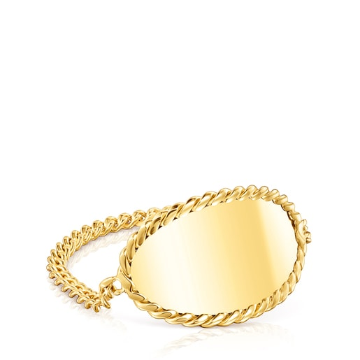 Gold Minne Ring