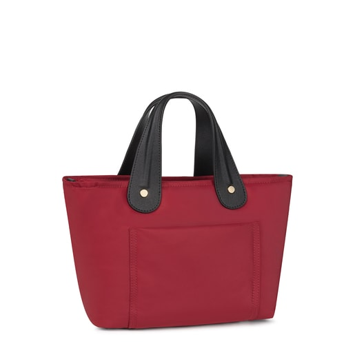 Small red Shelby Tote bag