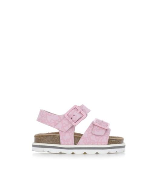 Sandalia deportiva con hebillas Kaos Rosa