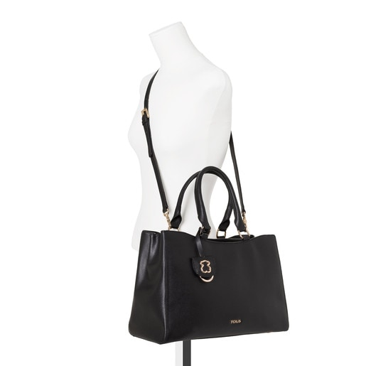 Medium black Leather Odalis City bag