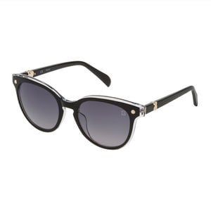 Black Metal and Acetate Pantos Pearl Sunglasses