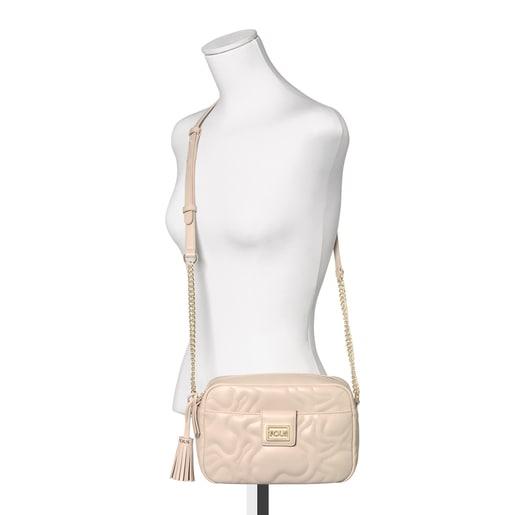 Small beige Kaos Dream Crossbody bag