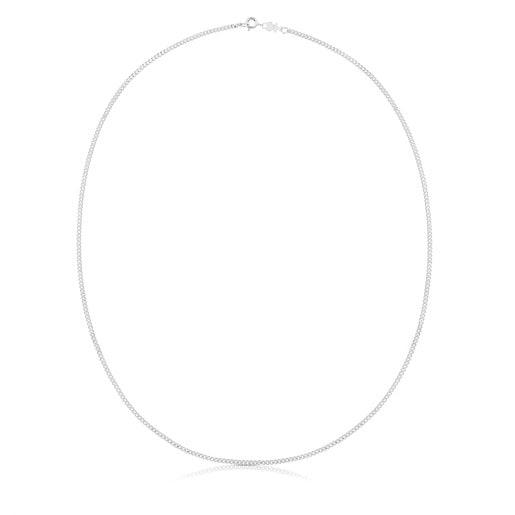 Cadena mediana TOUS Chain de Plata cordón, 60cm.