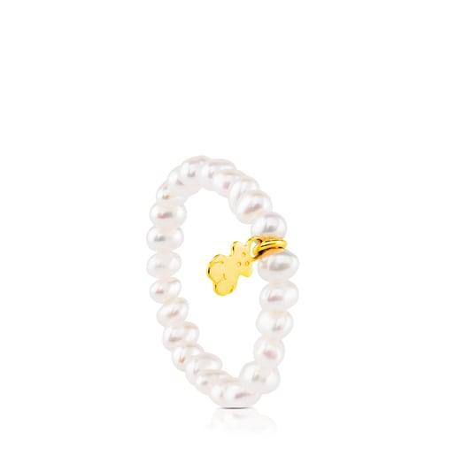 Bague TOUS Pearls en Or