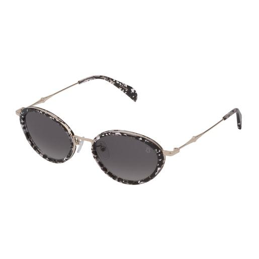 Gafas de sol Metal Bear de Metal en color negro