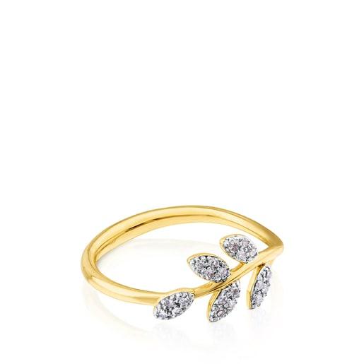 Anillo Gem Power de Oro con Diamantes