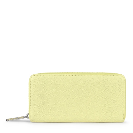 Medium yellow leather Sira wallet