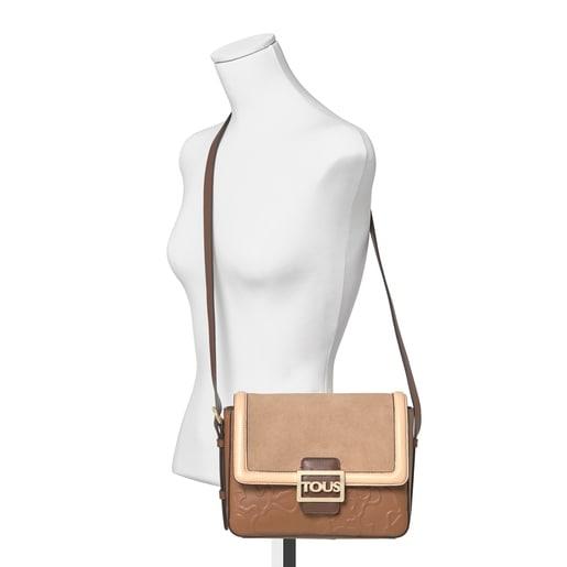Medium brown Leather TOUS Icon Crossbody bag