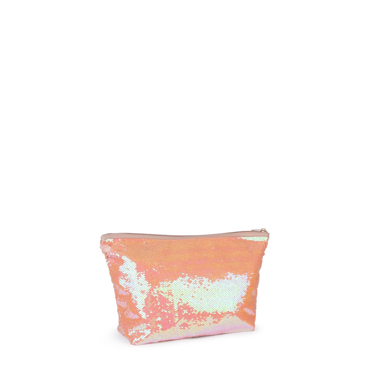 Small pink Kaos Shock Sequins Handbag
