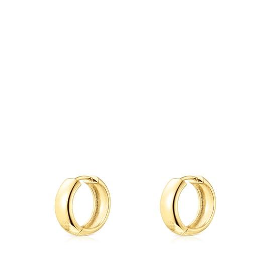 Silver Vermeil TOUS Basics Earrings