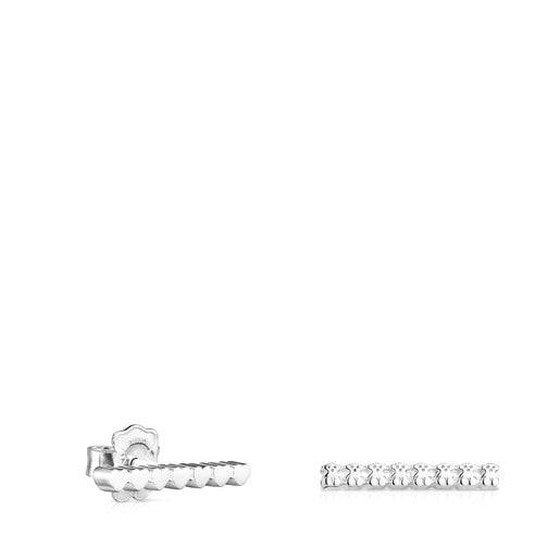 Aretes Straight barra de Plata