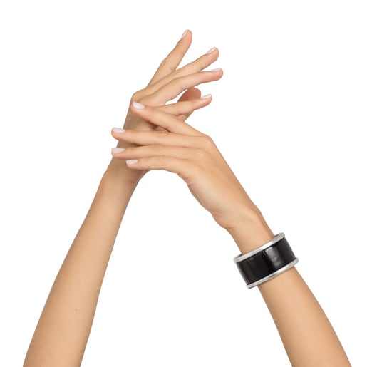 Χειροπέδα Fiocchi σε μαύρο-ασημί χρώμα