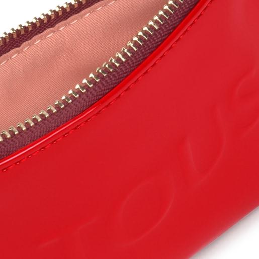 Porte-monnaie et porte-cartes Dorp rouge
