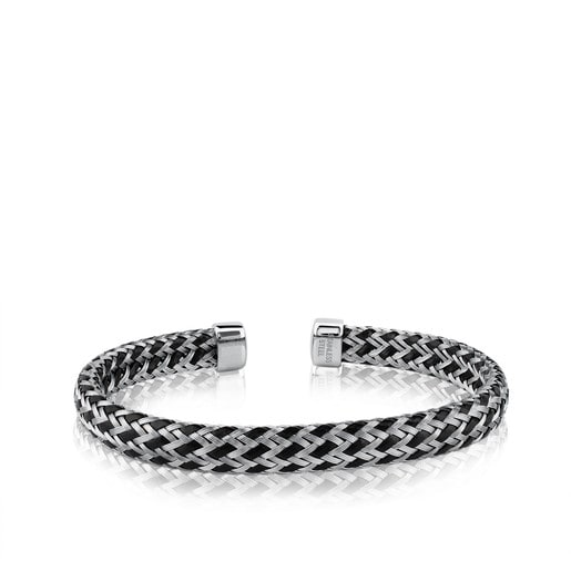 Steel TOUS Man Bracelet 19,5cm.