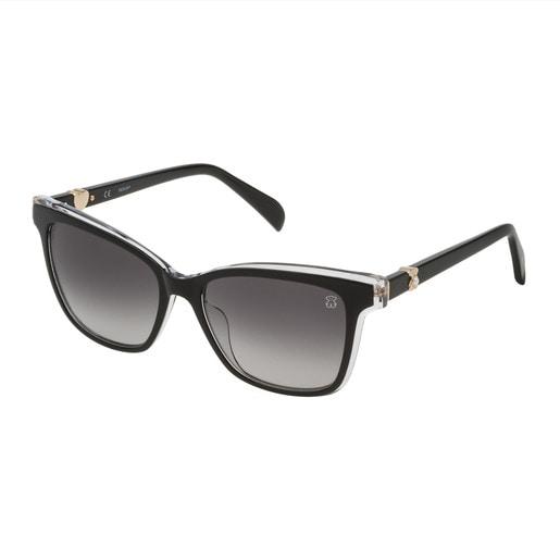 Lentes de sol Squared Pearl de Acetato en color negro