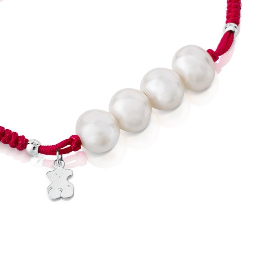 Armband TOUS Pearls aus Silber