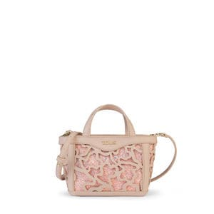 Mini pink Kaos Shock Tote bag