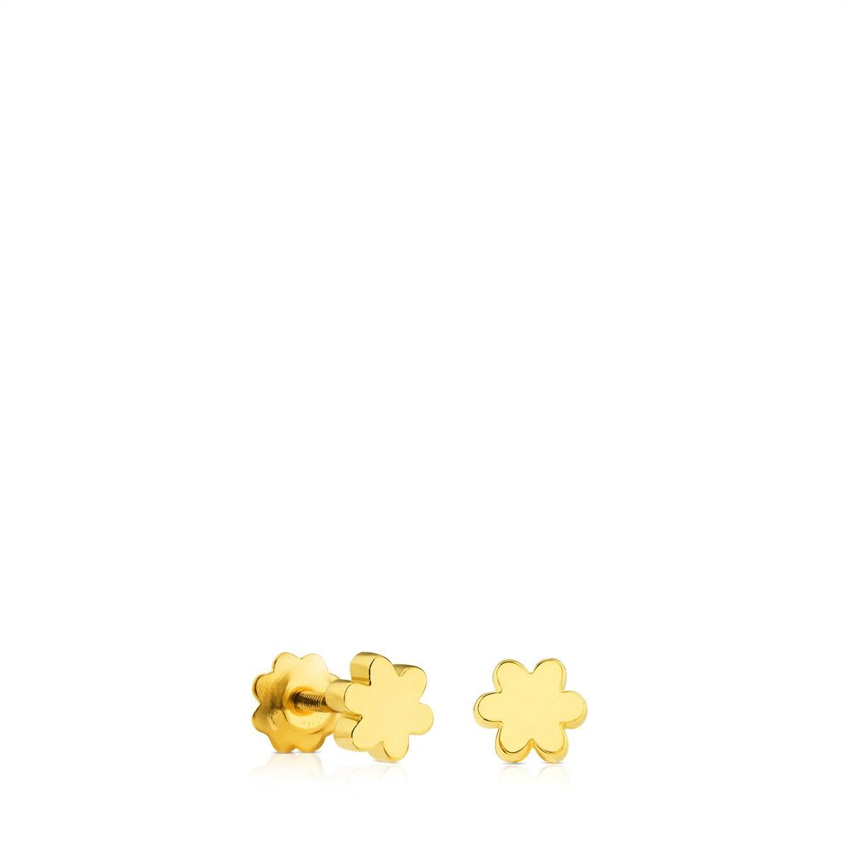 Pendientes Puppies de Oro