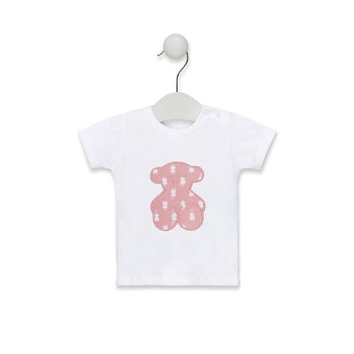 Camiseta de playa Pin up-Tai Rosa