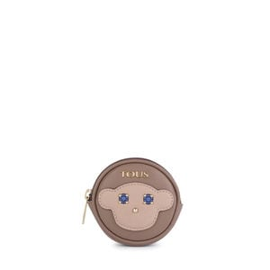Monedero pequeño round Patch Maia topo