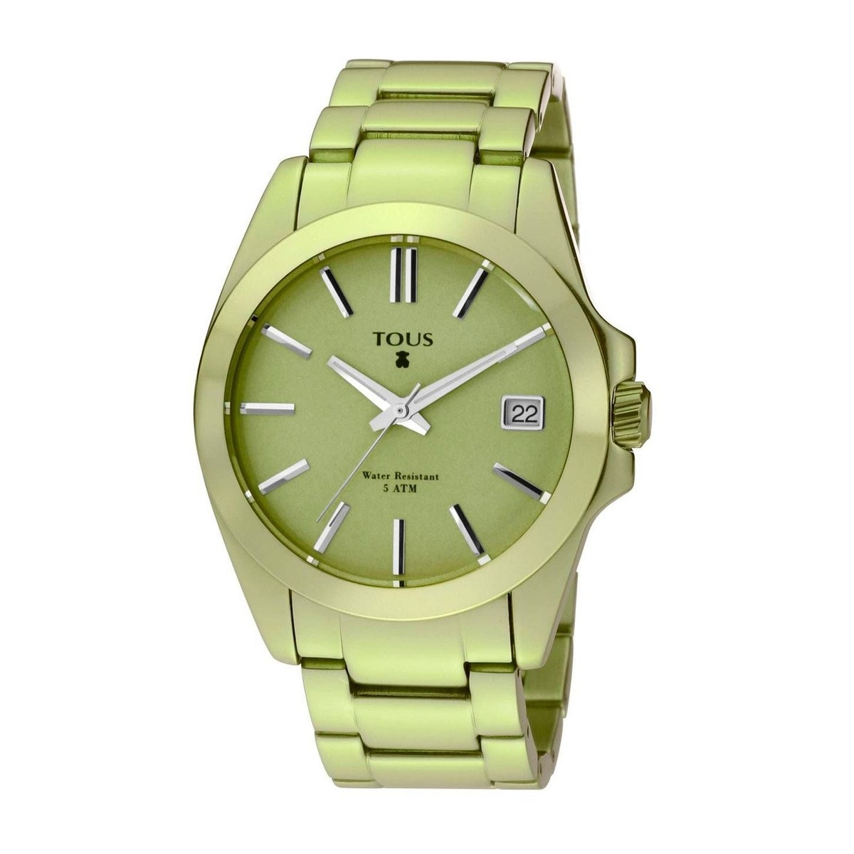 Lime anodized Aluminum Drive Watch