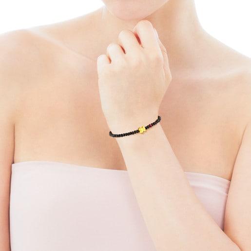 Gold Sweet Dolls Bracelet with rubies