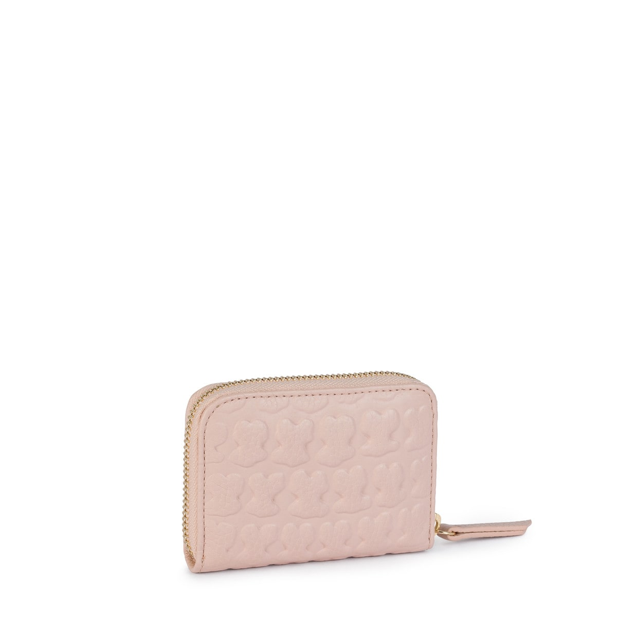 Medium pink Leather Sherton Change purse