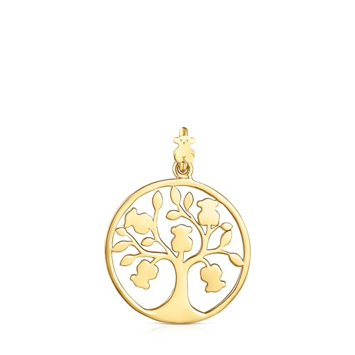 Penjoll TOUS Good Vibes arbre de plata vermeil