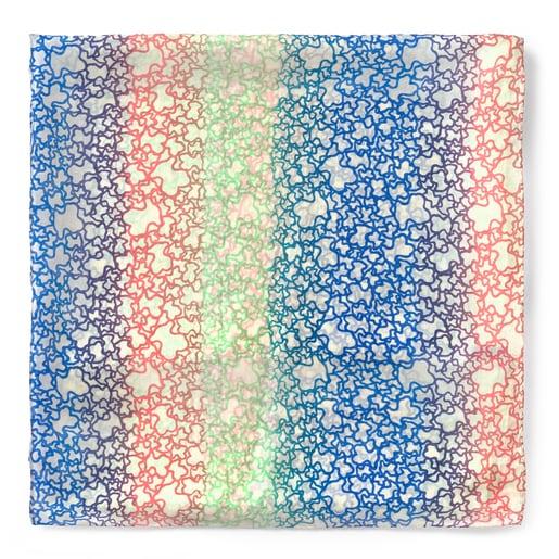Φουλάρι Mini Gradient Πολύχρωμο - χρώμα της Άμμου