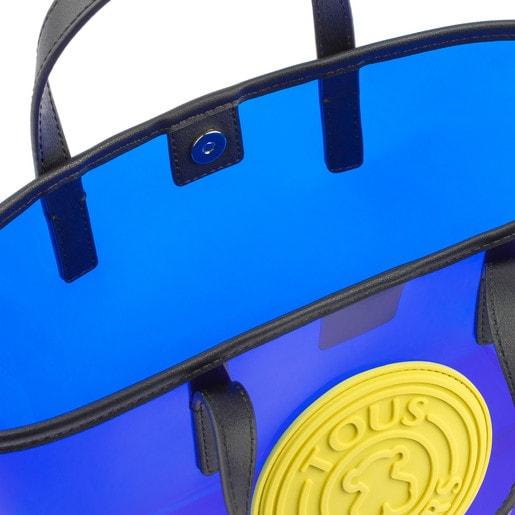 Capazo pequeño Tous Gum Azul