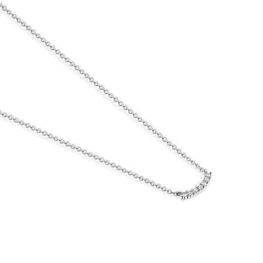 Les Classiques Necklace in White gold and Diamonds
