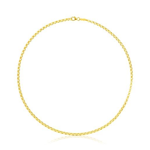 Gargantilla TOUS Chain de Oro, 42cm.