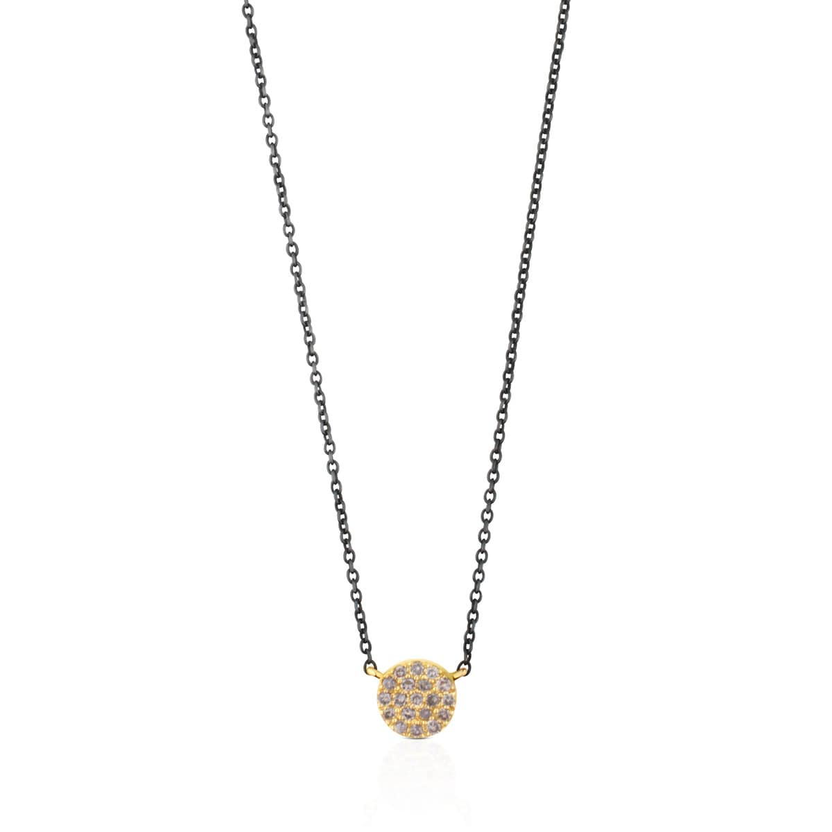 7a87eb65f Silver and Gold Gem Power Necklace with Diamonds - Tous Site US