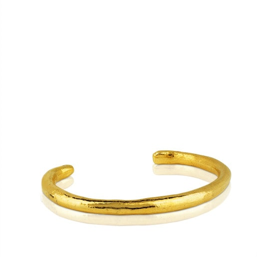 Bracelet Duna Tube en Vermeil