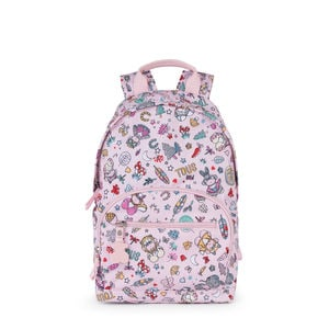 Small pink Nylon School Playground Backpack