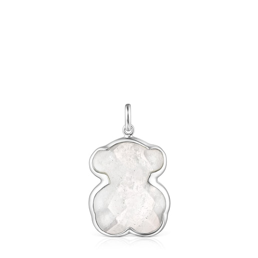 Silver and rock Crystal Sweet Dolls Color Pendant