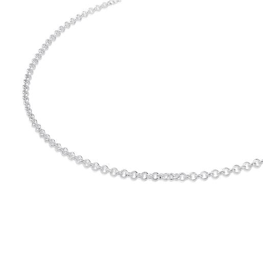 Silver TOUS Chain Choker