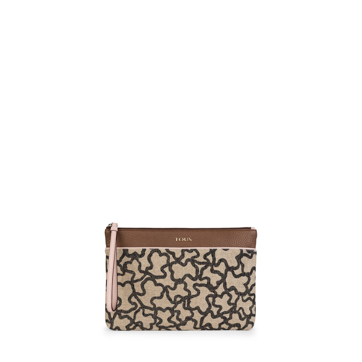 Brown-pink Elice New Clutch bag