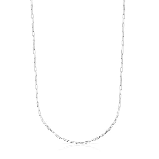 Enge Halskette TOUS Chain Oval aus Silber