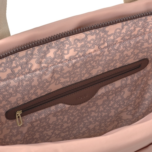 Large pink Shelby shopping bag
