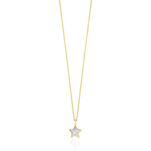 Colar XXS estrela em Ouro e Nácar