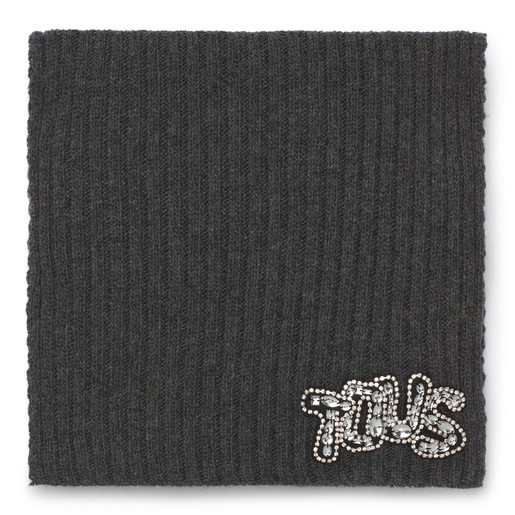 Bufanda Cuarzo gris oscuro